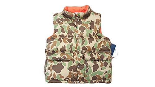(Polo Ralph Lauren Reversible Down Vest Boys Camo Print (Medium ( 10-12 )))