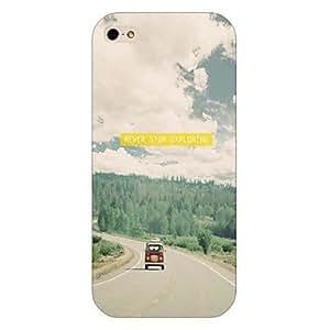 SHOUJIKE Highway Pattern Back Case for iPhone5/5S