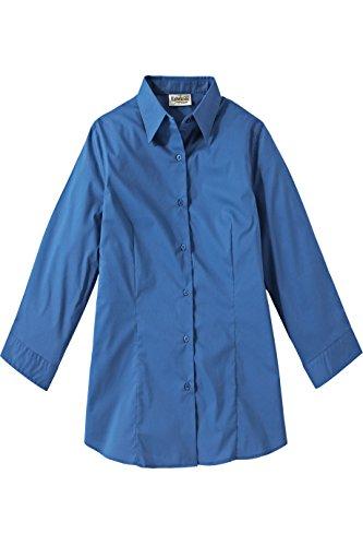Edwards Garment Women's Maternity Stretch Broadcloth Placket Blouse Shirt