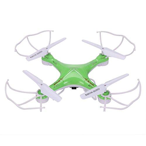 eshion 2.4G 4CH 6 Axis RC Quadcopter Headless Flight Mode RC Gyro Drone with Camera Green