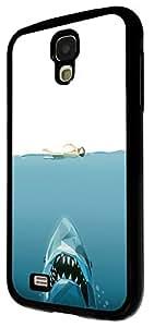 484 - Cool Shark Swimmer Design For Samsung Galaxy S4 Mini Fashion Trend CASE Back COVER Plastic&Thin Metal
