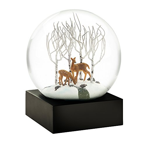 CoolSnowGlobes Deer in The Woods Cool Snow Globe (Globe Snow Snow With Blowing)