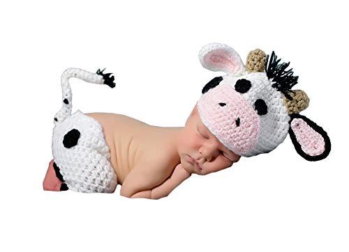 Newborn Baby Cow Costumes - Newborn Baby Photo Props Boy Girl