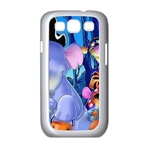 Samsung Galaxy S3 9300 Cell Phone Case White Pooh's Heffalump Halloween Movie J3438093