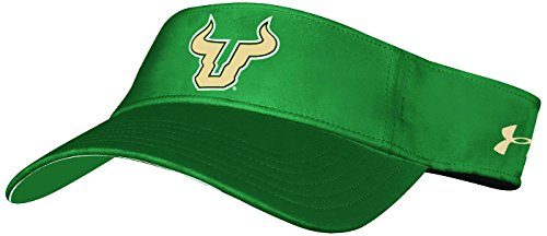 NCAA South Florida Bulls Adult NCAA Renegade Visor, One Size, Green ()