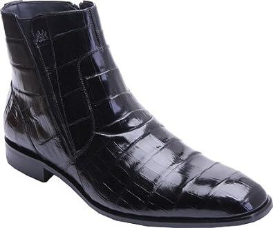 f9e4703a456 Mezlan Mens Belucci Black Ankle Boot 3663