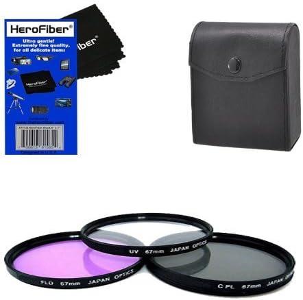 UV For Nikon 18-105mm f//3.5-5.6G ED VR AF-S DX Nikkor Multithreaded Glass Filter 67mm Haze 1A Multicoated