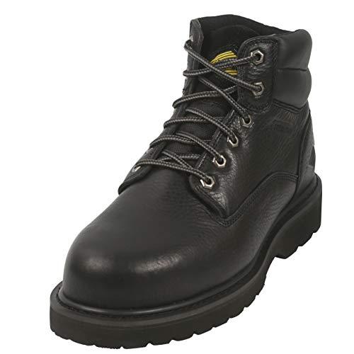 6 Inch Non Slip Steel Toe Work Boots for Men,...