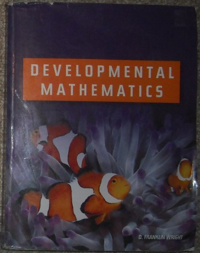 Developmental Mathematics Text