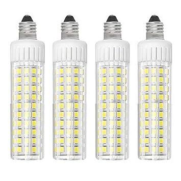 Bombillas, bombillas de inicio, 4pcs 8.5 W 1105 lm E11 Bombillas LED de Mazorca T 125 Cuentas LED SMD 2835 Regulable Blanco Cálido/Blanco Fresco 220 V ...