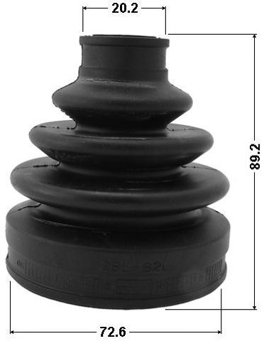 Oem: 44118-77E03 72.6X89.2X20.2 Suzuki Kit Outer Cv Joint Boot