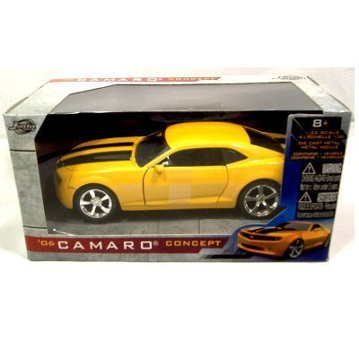 06 Camaro Concept Car Yellow Bumbee Car by Jada