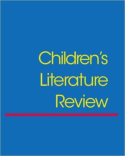 Book Children's Literature Review: Vol 86