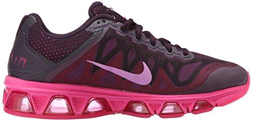 Nike Vrouwen Wmns Air Max Wind In De Rug 7, Wit / Zwart-clearwater-flash Lime Noble Paars / Roze Pow / Roze Folie / Fuchsia Glow