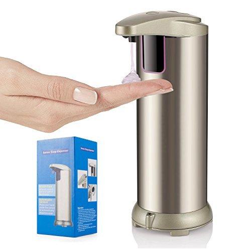 gold automatic soap dispenser - 9
