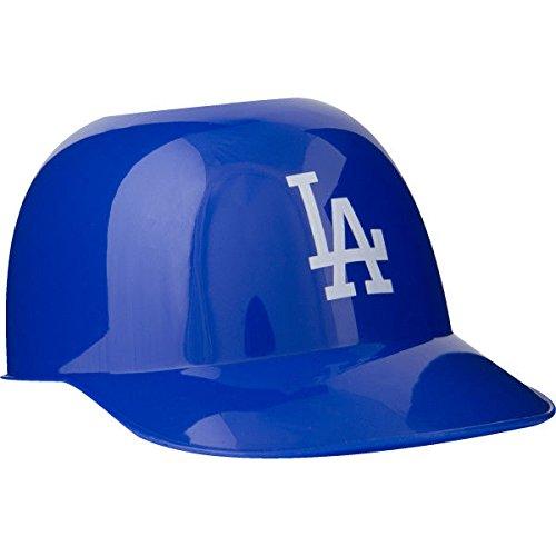 MLB Mini Batting Helmet Ice Cream Sundae Snack Helmet Bowls - Los Angeles Dodgers - 10 - Sox Helmet Mini Baseball