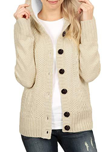 side button cardigan - 1