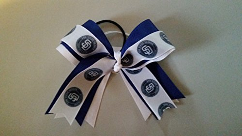 Padres Hair Bow