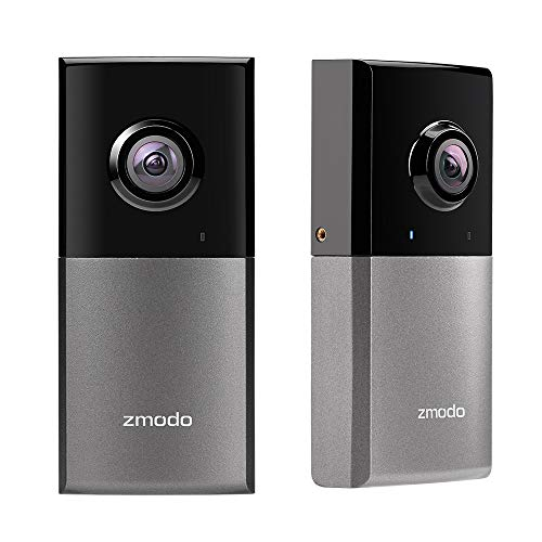 Zmodo Sight 180 Outdoor Wireless Security Camera, Full HD 1080P IP Security Surveillance System, with 180 Degree Viewing Angle, IP65 Waterproof - Works with Alexa (2 Pack)