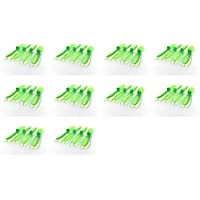 10 x Quantity of Estes Dart Transparent Clear Green Propeller Blades Props Rotor Set 55mm Factory Units