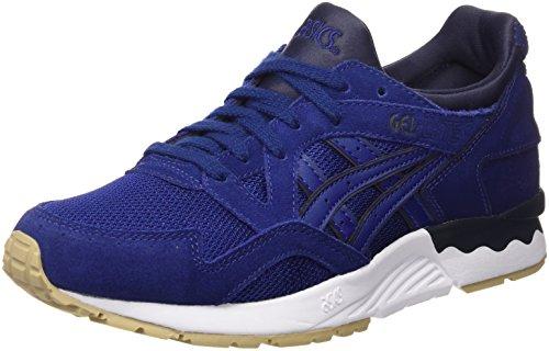 Asics Unisex-Erwachsene Gel-Lyte V Sneakers Blau (Blue Print/Blue Print)