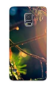 Fashion Tpu Case For Galaxy S5- Fir Close Up Defender Case Cover For Lovers