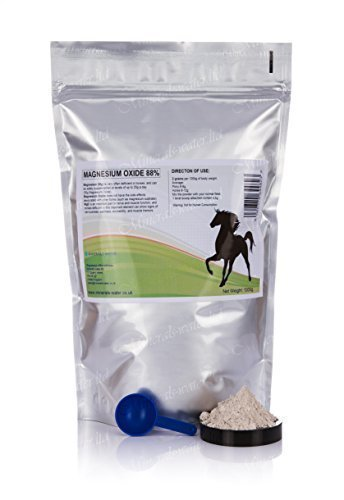 1kg Magnesium oxide - 88% , mag ox, stress calmer, laminitis, horse supplement Minerals-water