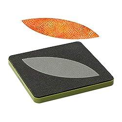 """AccuQuilt Orange Peel Go! Fabric Cutting Dies, 4.5"""" by 4.5"""""""