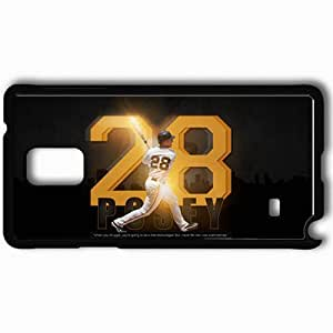 Personalized Samsung Note 4 Cell phone Case/Cover Skin 15065 giants wp 29 sm Black