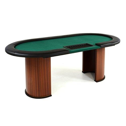 Pokertisch Casinotisch Glücksspiel Kartenspiel Poker massiv XL