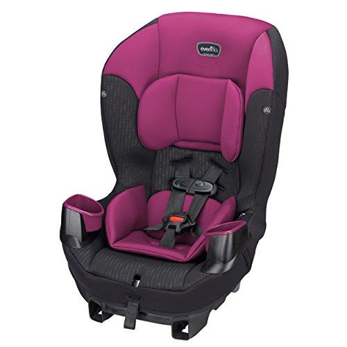 Evenflo Sonus 65 Convertible Car Seat, Berry Beat