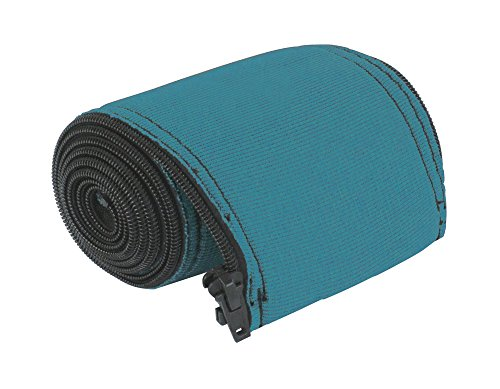 Outdoor Solutions 6' Teal in-Ground Swimming Pool Ladder and Handrail Protection | Slip Resistant Grip | Keeps Railings Cool in The Sun | Durable Nylon Material with Zipper -
