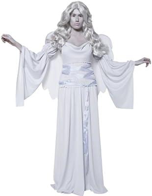 Desconocido Disfraz de ángel de la muerte para mujer Halloween ...