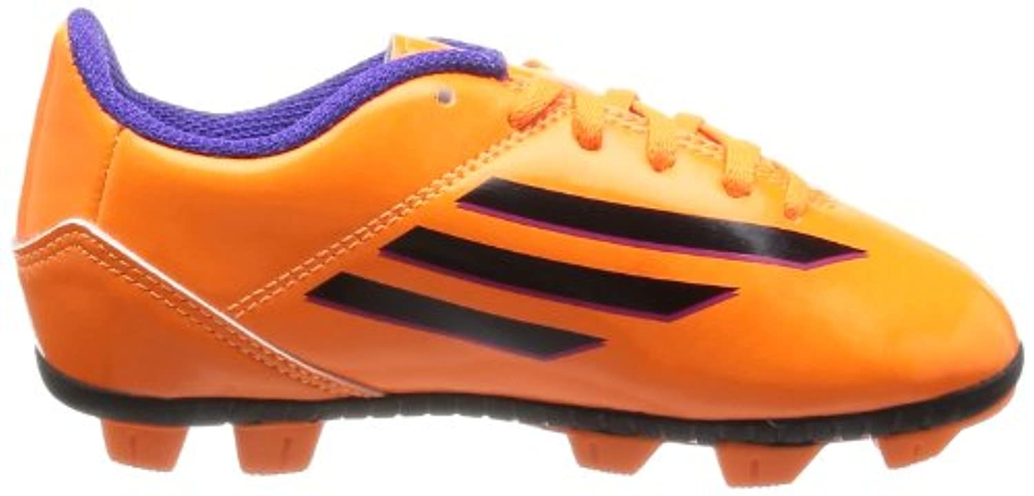 Adidas Junior Boys/Girls Orange/Black F5 TRX HG J Hard Ground Football Soccer Boots UK 4/US 4.5/EU 36 2/3