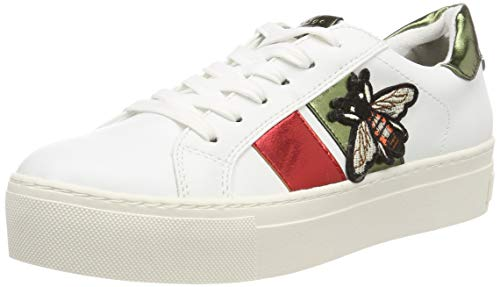 Marco 32 Mujer 2 white Para Blanco 197 Tozzi 23721 Comb 2 Zapatillas 7rIqw7BHx