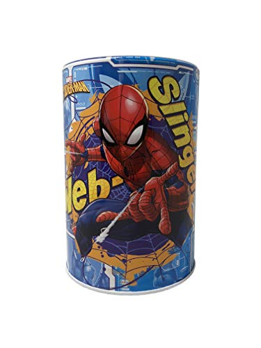 The Tin Box Company Spider-Man Kids Money (Coin) Saving Bank - Web Slinger ()