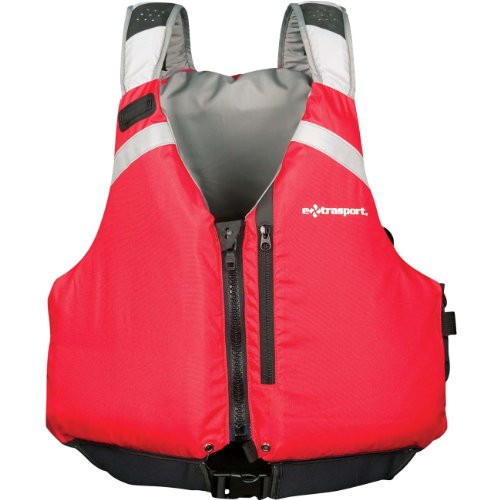Extrasport Canoe (Extrasport Sturgeon Canoe/Kayak Rafting Fishing Personal Flotation Device/Life Jacket, Olive/Black,)