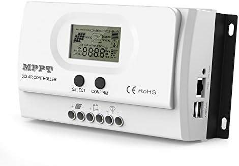 ALLPOWERS 20 Amp 12V 24V DC Input MPPT Solar Charge Controller