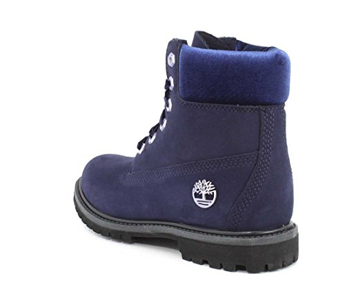 Evening Inch Boots Blue Dark Waterbuck velvet Collar W Men's Timberland Waterproof 6 Premium aqUWx0O