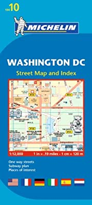 Michelin Washington DC Map 10 (Maps/City (Michelin))