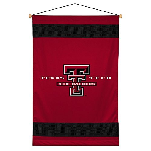 Sports Coverage NCAA Texas Tech Red Raiders Sideline Wall Hanging