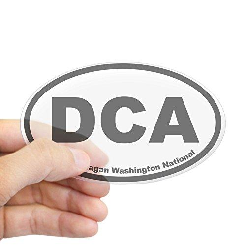 CafePress - Ronald Reagan Washington National Oval Sticker - Oval Bumper Sticker, Euro Oval Car - Chesapeake Mall