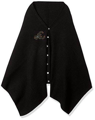 NBA Milwaukee Bucks Black Out Button Poncho