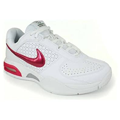 Amazon.com | Nike Air max Mirabella 2 US Women's 9 M  (White/VoltageCherry/DeepBurgundy/Volt) | Fashion Sneakers