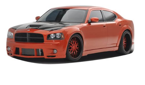 Couture Luxe Wide Body Kit - 10 Piece Body Kit - Fits Dodge Charger - 2006 2007 2008 2009 2010 | 06 07 08 09 10 (10 Dodge Charger Polyurethane)