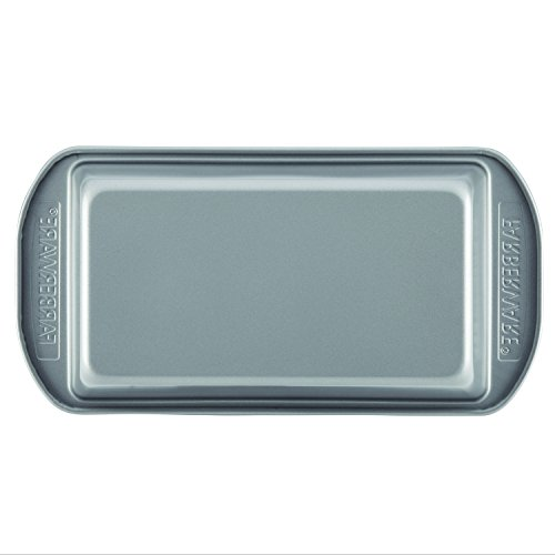 Farberware Nonstick Bakeware Bread and Meat Loaf Pan Set, 2-Piece, Gray by Farberware (Image #1)