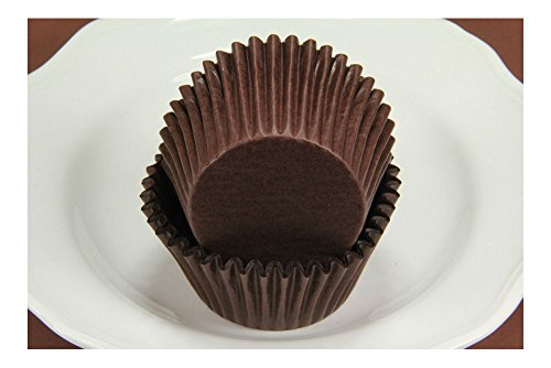 500x, 2.25'' Paper Cupcake Muffin Liners, Baking Cups, Br...