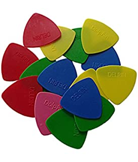 Delrin BGDelrin 40 Picks For Triangular Guitar Random Color