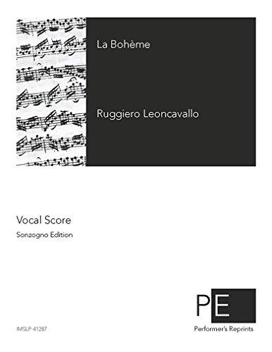 La Bohème - Vocal Score