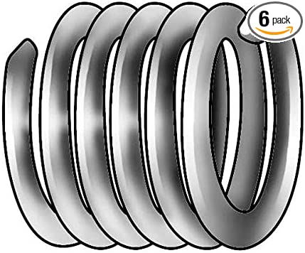 Helicoil HELR514-6 Replacement Heli-Coil Inserts 6 Pack